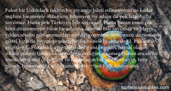 Quotes About Stanbul
