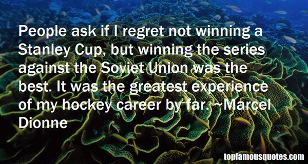 Quotes About Stanley Cup