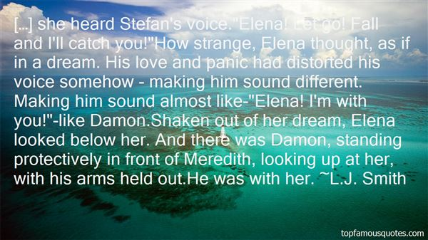 Quotes About Stefan And Elena