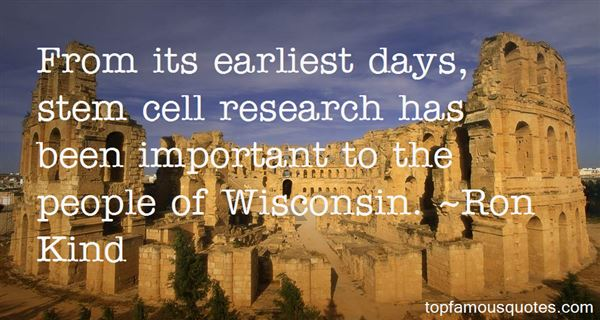 Quotes About Stem Cell Research