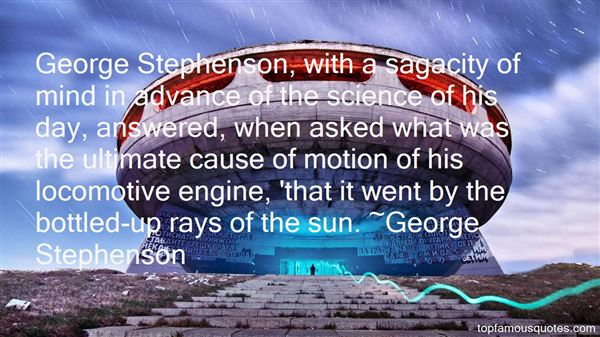 Quotes About Stephenson