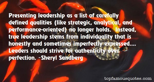 Quotes About Strategic Leadership