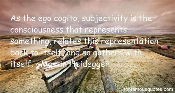 Quotes About Subjectivity