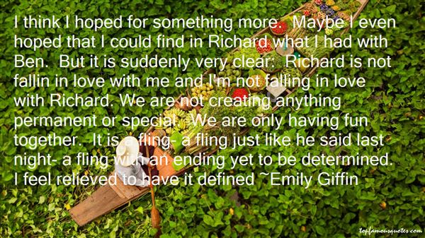 Quotes About Suddenly Falling In Love
