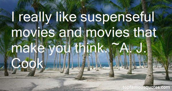 Quotes About Suspenseful Movies