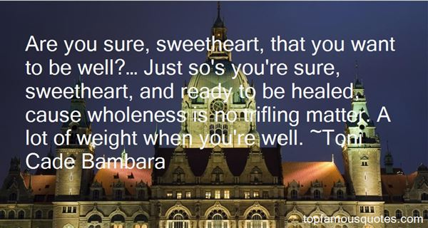 Quotes About Sweetheart
