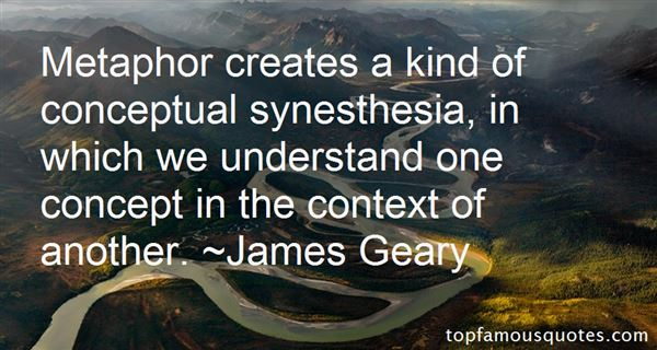 Quotes About Synesthesia
