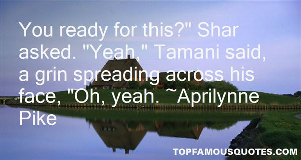 Quotes About Tamani