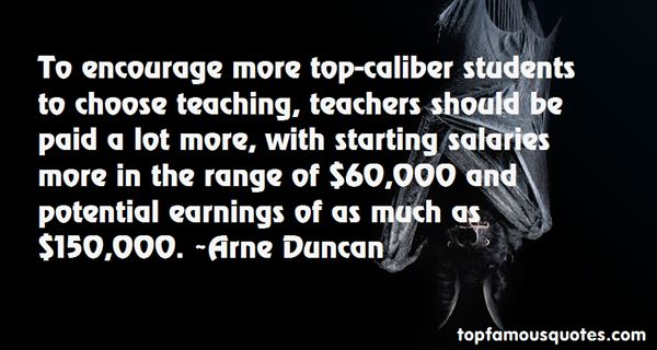 Quotes About Teacher Salaries