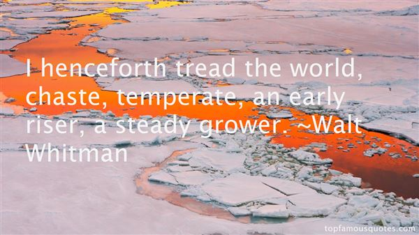 Quotes About Temperate