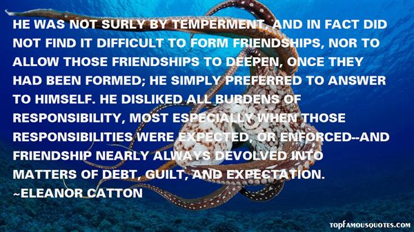 Quotes About Temperment