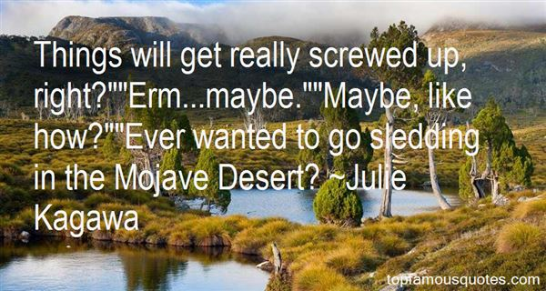 Quotes About The Mojave Desert