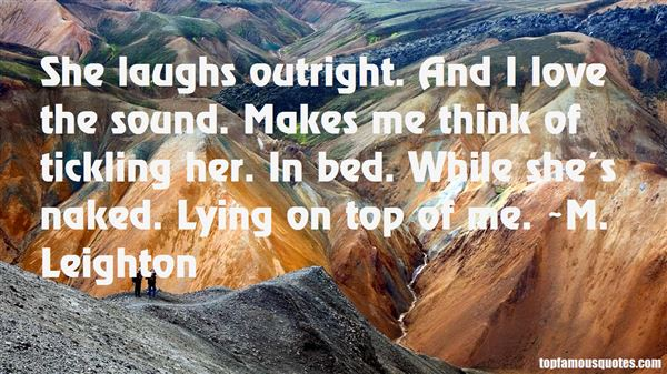 Quotes About Tickling