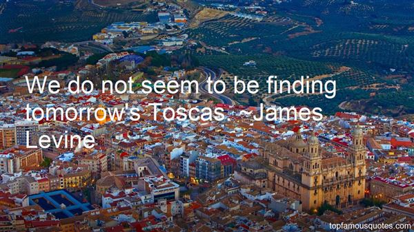 Quotes About Tosca