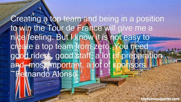 Quotes About Tour De France