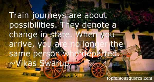 Quotes About Train Journeys