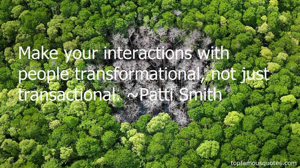 Quotes About Transactional