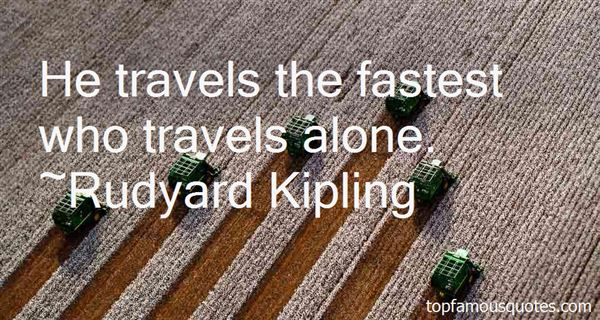 Quotes About Travel Alone