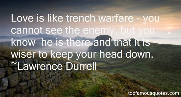 Quotes About Trench Warfare