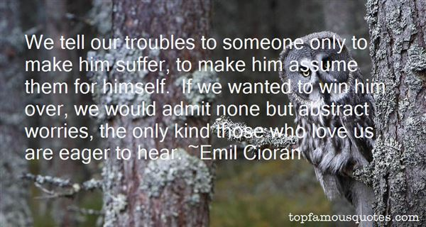 Quotes About Troubles In Love