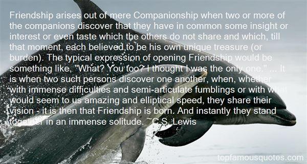 Quotes About Unique Friendship