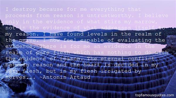 Quotes About Untrust