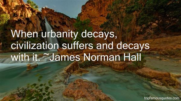 Quotes About Urbanity