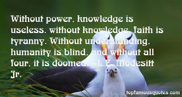 Quotes About Useless Knowledge