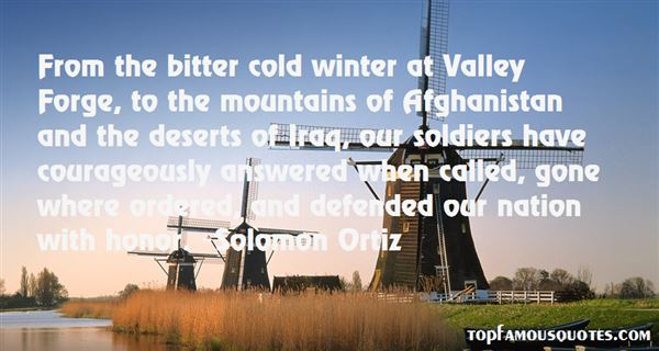 Quotes About Valley Forge