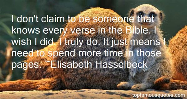 Quotes About Verse In Bible