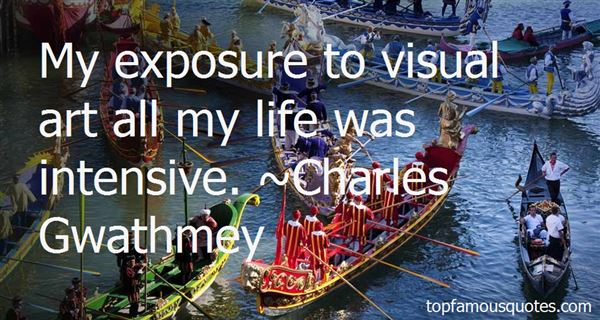 Quotes About Visual Art
