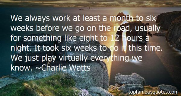 Quotes About Wee Hours