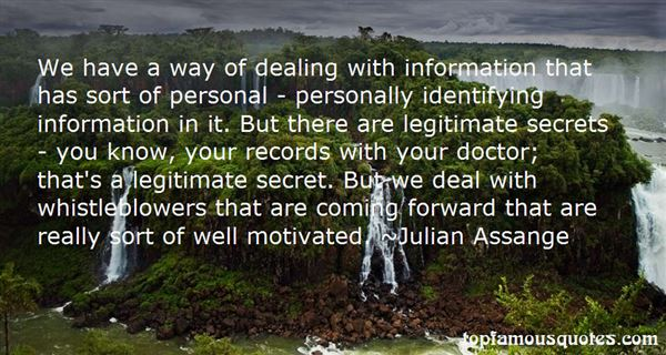 Quotes About Whistleblowers