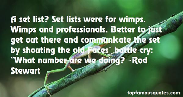 Quotes About Wimps
