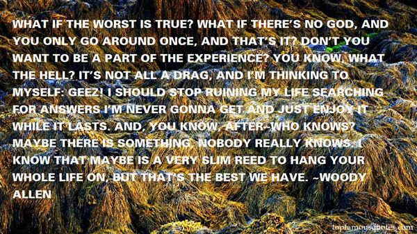 Quotes About Worst Life