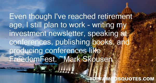 Quotes About Writing Conferences
