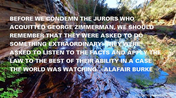 Quotes About Zimmerman Case