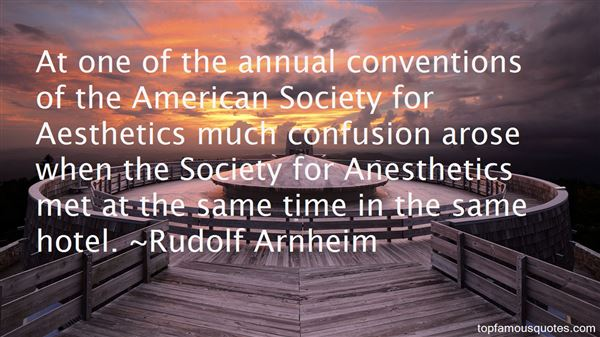 Quotes About Anesthetic