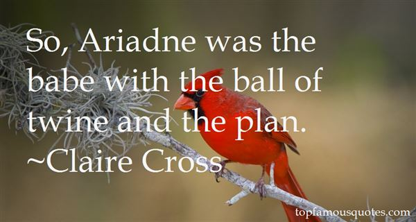 Quotes About Ariadne