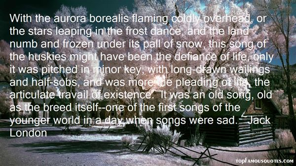 Quotes About Aurora Borealis