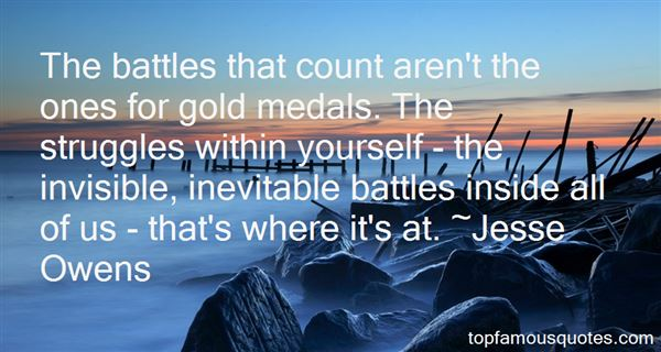 Quotes About Battles Within Yourself