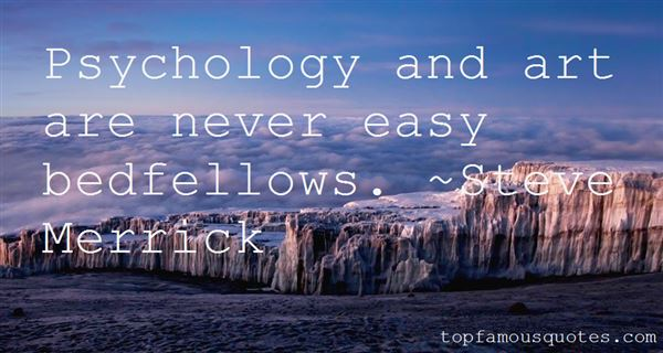 Quotes About Bedfellows