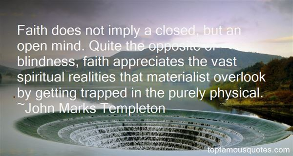 Quotes About Blind Faith