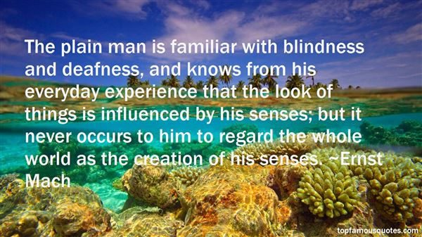 Quotes About Blindness And Deafness
