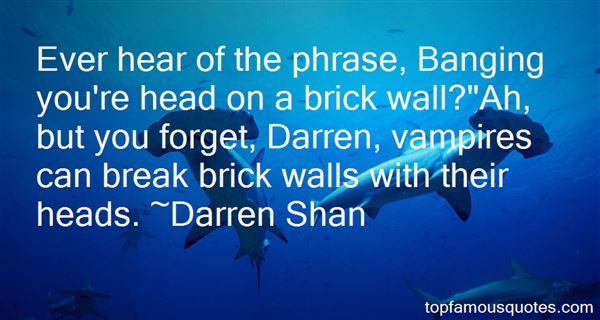 Quotes About Brick Walls