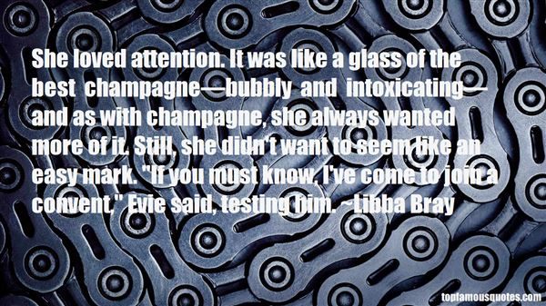 Quotes About Bubbly