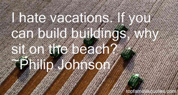 Quotes About Buildings