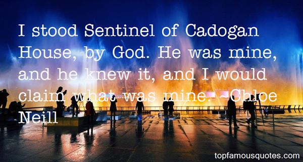 Quotes About Cadogan