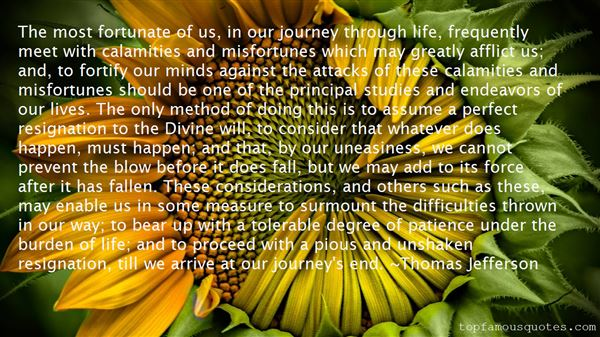 Quotes About Calamities