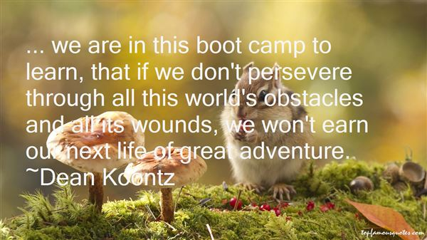 Quotes About Camp Life
